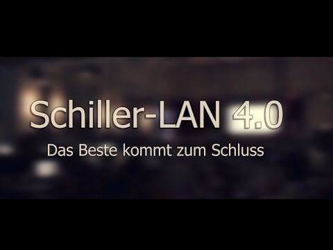 Schiller-LAN 4.0 Official Aftermovie